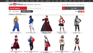Light in the Box Best Cosplay Stores Online