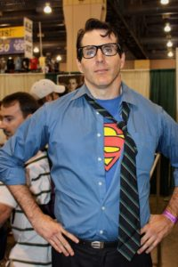 Clark Kent, one of many simple cosplay ideas for beginners