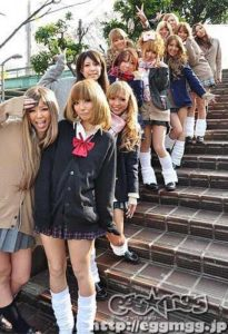 Group of girls wearing the Kogal J Fashion Trend