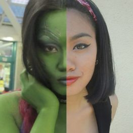 @disneycutiepie as Gamora for the #alteregocosplaychallenge